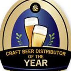image of Craft Beer Distributor of the year award